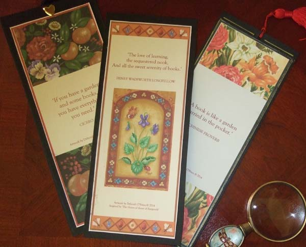 Three bookmarks 600